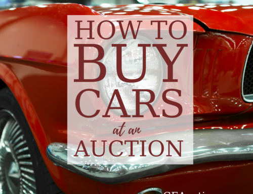 Buying Cars at Auction: How it Works